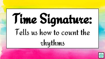 Time Signature interactive power point