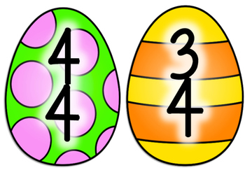 Easter Time Signatures Egg Hunt