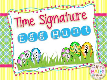 Time Signatures Egg Hunt