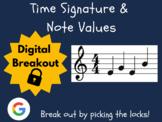 Time Signatures & Note Values - Digital Breakout! (Distanc