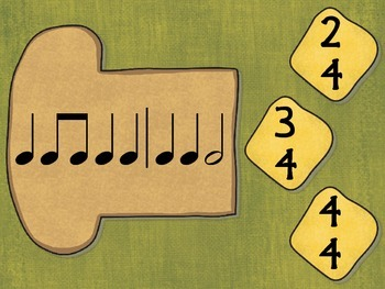Time Signatures on Toast - Interactive Game for Common Time Signatures