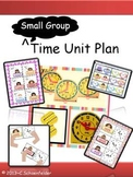 Time Small Guided Math Instructional Plan LARGE set for Math Stations