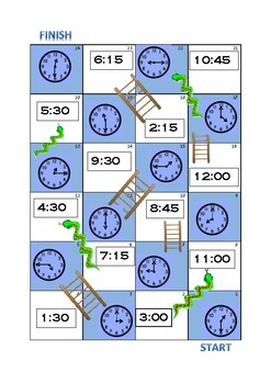 Time Snakes and Ladders