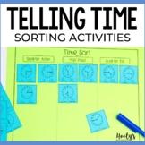 Time Sorts - Half Past, Quarter After, and Quarter Till