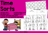 Time worksheets - sorts about duration, am/pm, clock time
