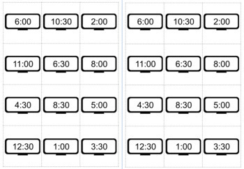 Hour Clock Conversion Worksheets