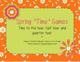 """Time: Spring """"Time"""" Differentiated Games"""