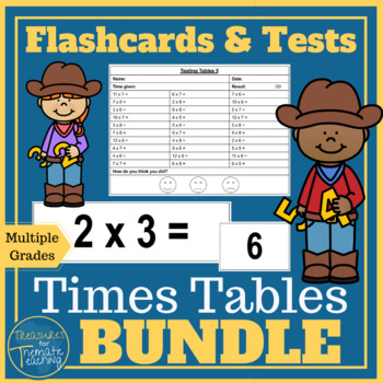 Times Tables BUNDLE