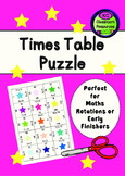 Time Tables Practise Puzzle
