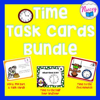 Time Task Card Bundle