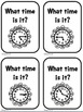 Telling Time Differentiated Task Cards for 2.MD.7 and 3.MD.1