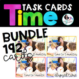 Time Task Cards BUNDLE - Great for Test Prep and Review