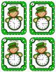 Time Task Cards • Leprechaun Time