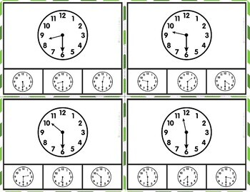 Time Task Cards Level 1