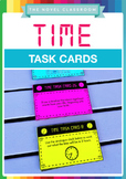Time Task Cards - Math Measurement Activity