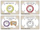 Time Task Cards Set 1: Time to the Half Hour: 1st Grade CC