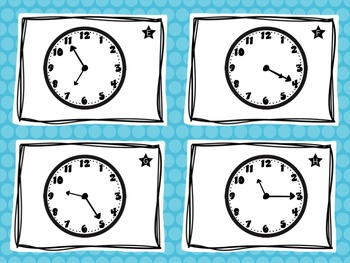 Time Task Cards {Telling Time to 5 Minutes}
