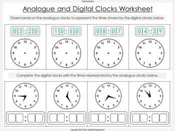 Time Teaching Resources - 64 slide PowerPoint and 3 worksheets