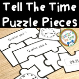 Time - Tell the time puzzle pieces