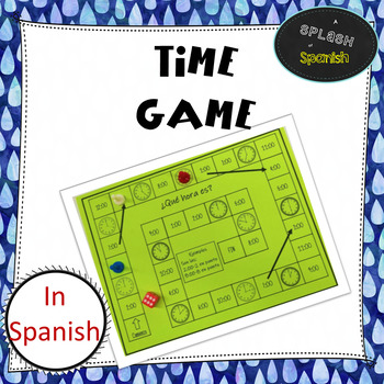 Time Telling Game in Spanish