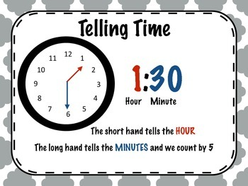 Time Telling Poster