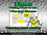 Time: Telling Time to the Nearest 5 Minutes Thinking Links Activity