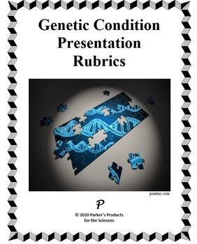 Time-Tested Rubrics for a Genetic Condition Presentation Project in Biology