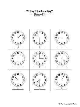 Time Tic Tac Toe