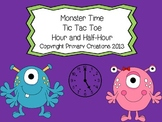 Time Tic Tac Toe Hour and Half-Hour