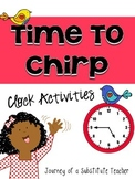 Telling Time Activities Pack