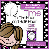 Time Task Cards Time To The Hour and Half Hour