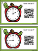 Time To The Hour & Half Hour -Apple Theme (QR Code Optional)