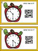 Time To The Hour & Half Hour -Apple Theme (QR Code Optional)