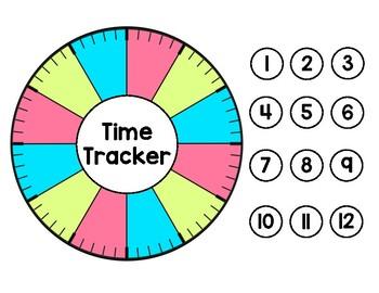 Time Tracker - Time Management - Behavior / Incentive Chart