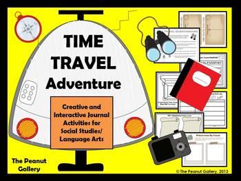Time Travel Adventure (Creative & Interactive Notebook/Journal Activities)