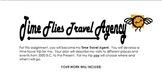 Time Travel Agency project