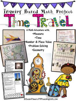 Inquiry Based Math Adventure with Elapsed Time, Place Value & Fractions