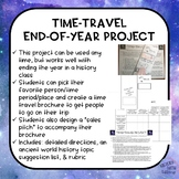Time Travel Through History Project | End Of Year Activity