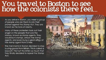 Time Travel - Trouble in the Colonies