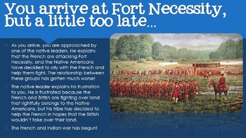 Time Travel to the French and Indian War