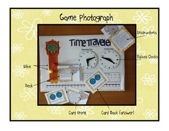 Time Traveler:  Elapsed Time