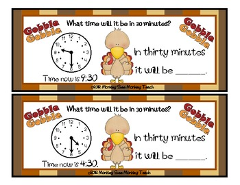 Time: Turkey Time Dance! (Elapsed Time)
