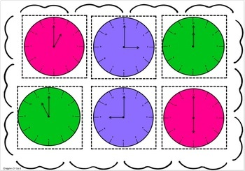 Time Unit- Hour and Half Hour Activities