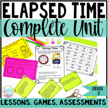 Elapsed Time Unit | Telling Time