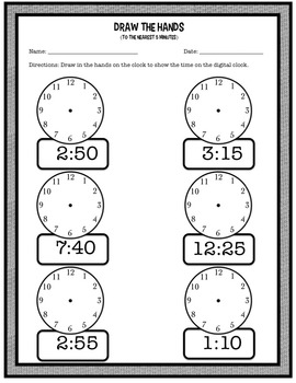 Time Unit (Telling Time, Converting Time, Elapsed Time, etc!)