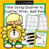 Time Using Quarter to, Quarter after, Half Past RACE GAME