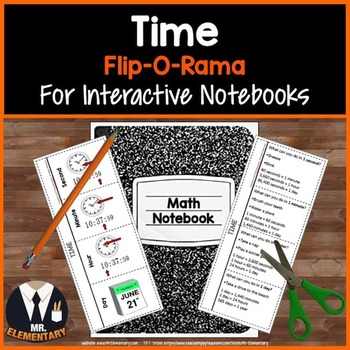 Time Vocabulary Interactive Notebook