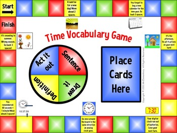 Time Vocabulary Game
