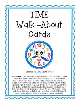 Time Walk-About Cards