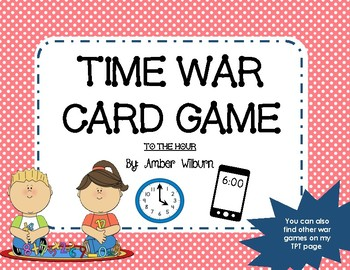 Time War - A time identification card game